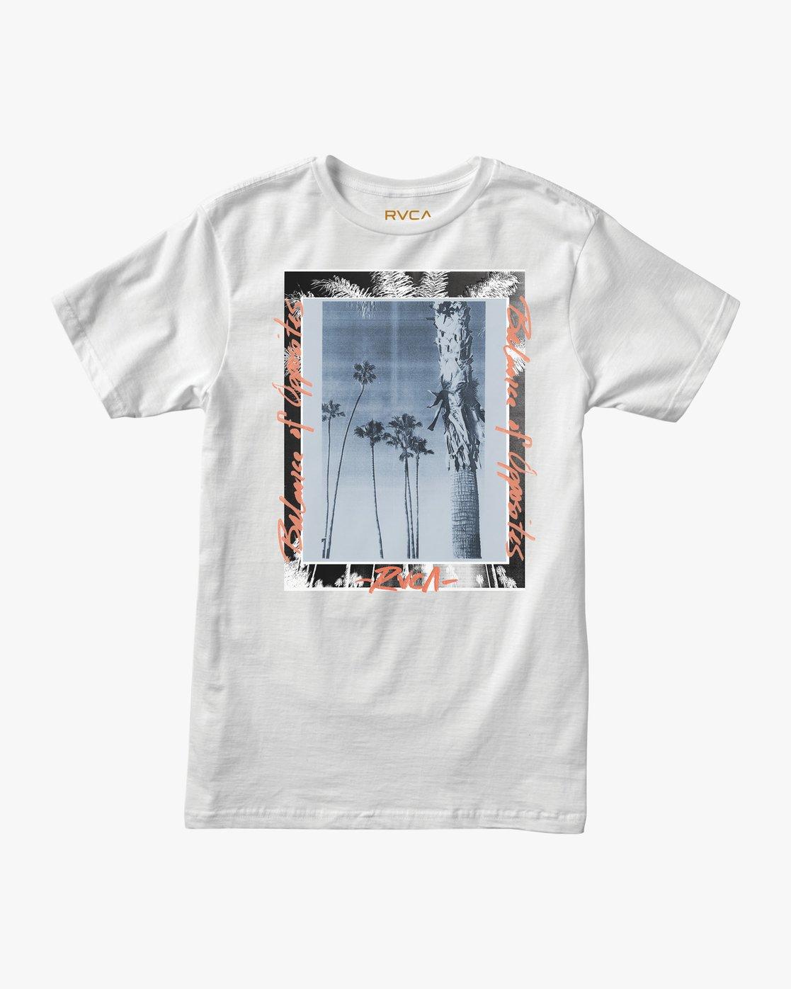 0 Last Paradise T-Shirt White M401TRLA RVCA