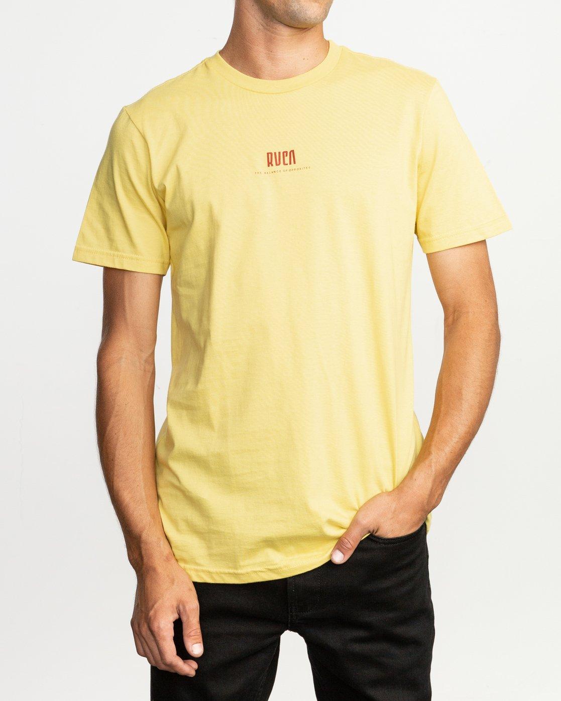 2 Mind Wrap T-Shirt  M401TRMI RVCA