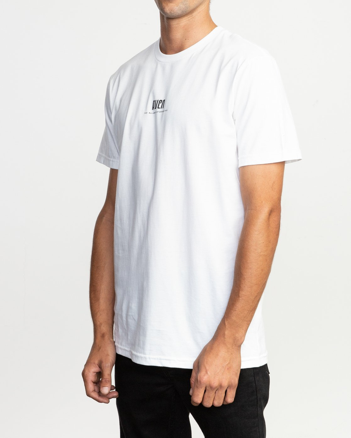 3 Mind Wrap T-Shirt White M401TRMI RVCA