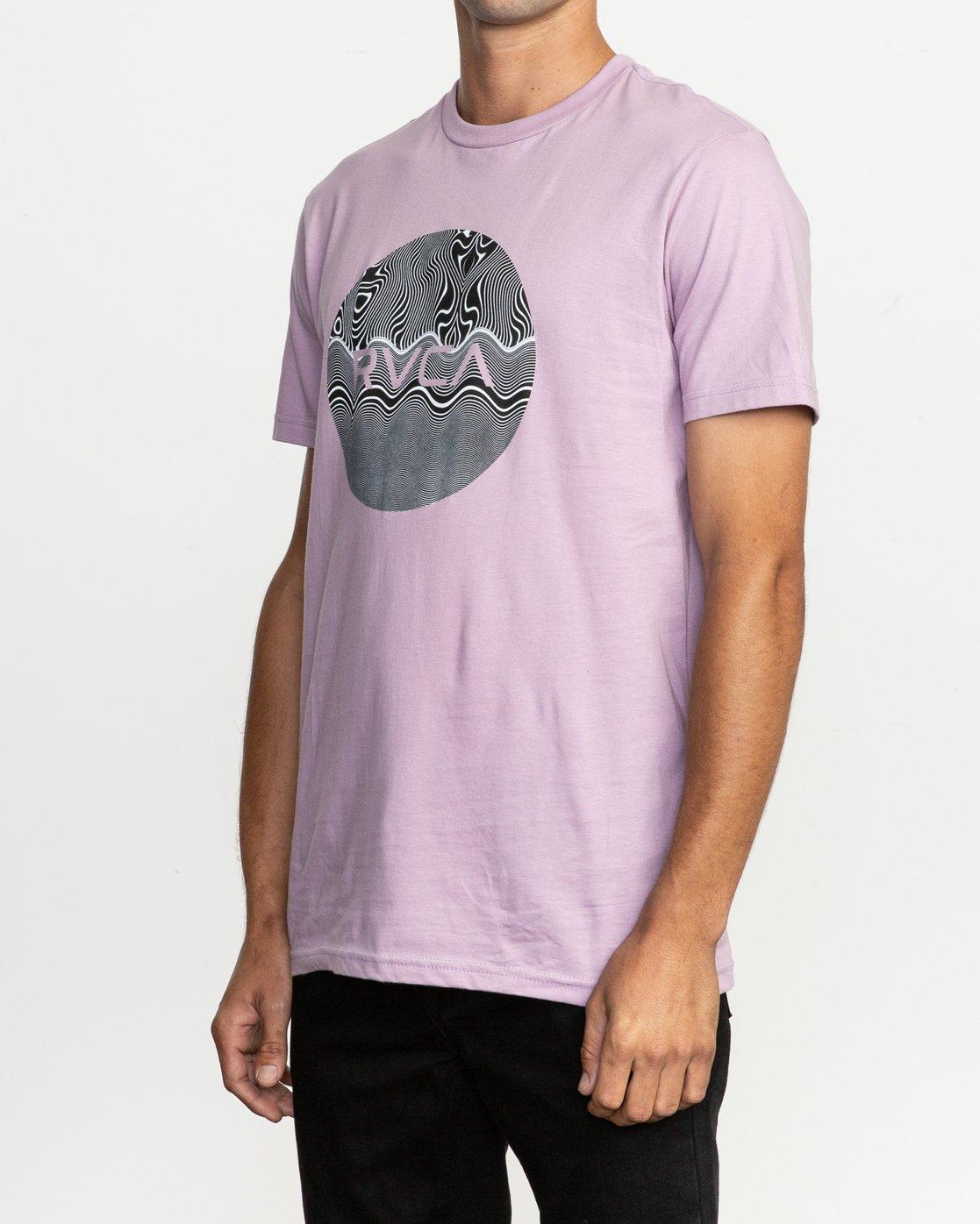 2 Motors Fill T-Shirt Purple M401TRMO RVCA