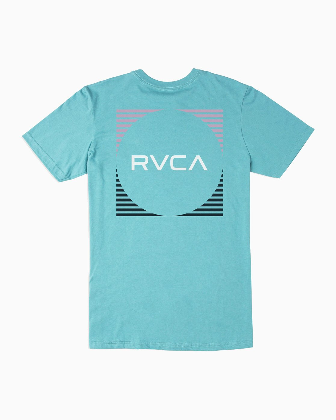 0 Motorstripe T-Shirt Blue M401TRMS RVCA