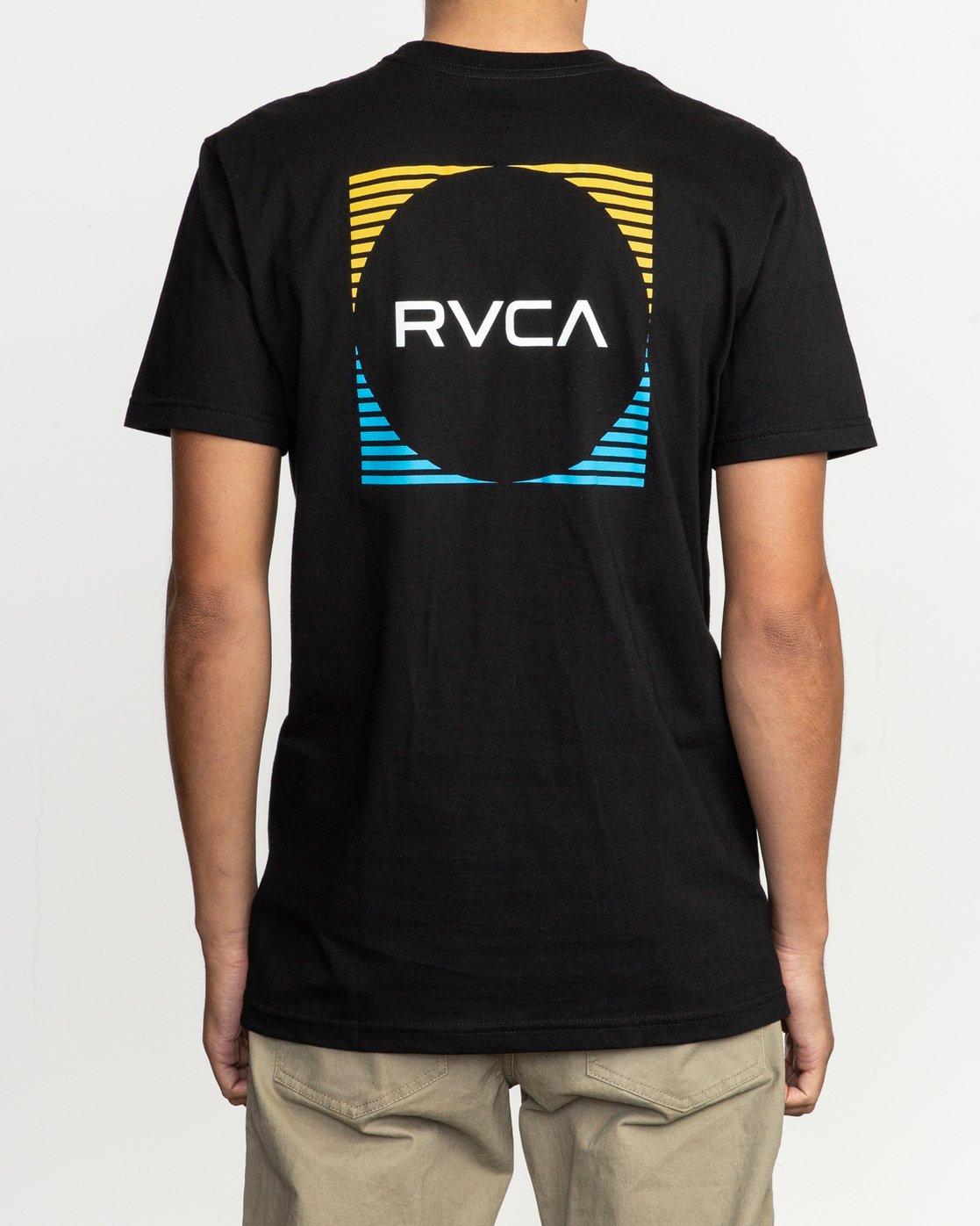 4 Motorstripe T-Shirt  M401TRMS RVCA