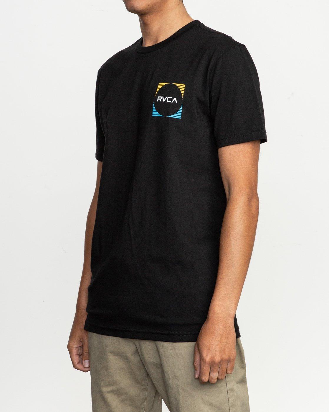 3 Motorstripe T-Shirt  M401TRMS RVCA
