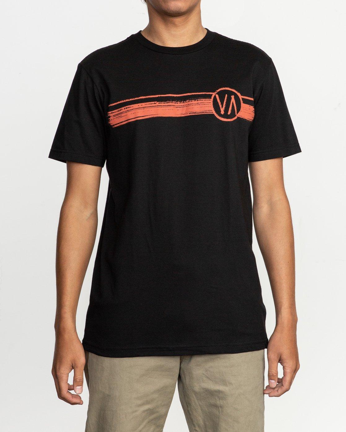 1 Ben Horton Off Track T-Shirt Black M401TROF RVCA