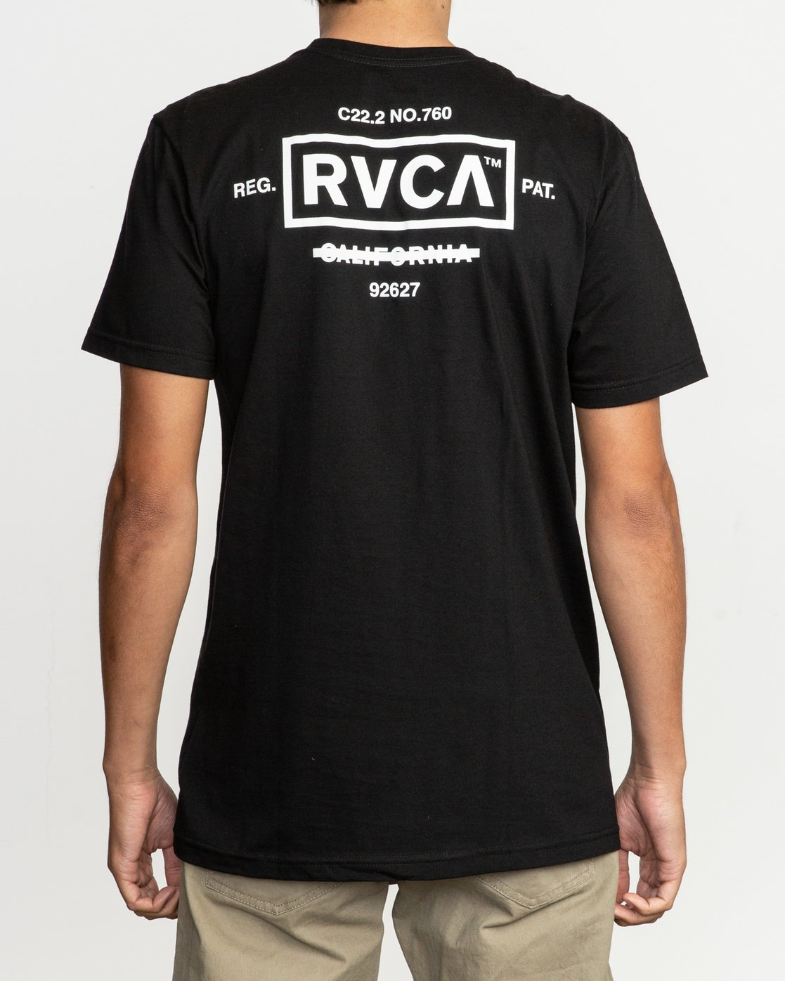4 Oil And Water T-Shirt Black M401TROI RVCA