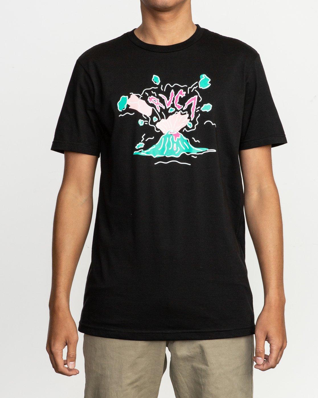 1 Ceddia Pompei T-Shirt Black M401TRPO RVCA