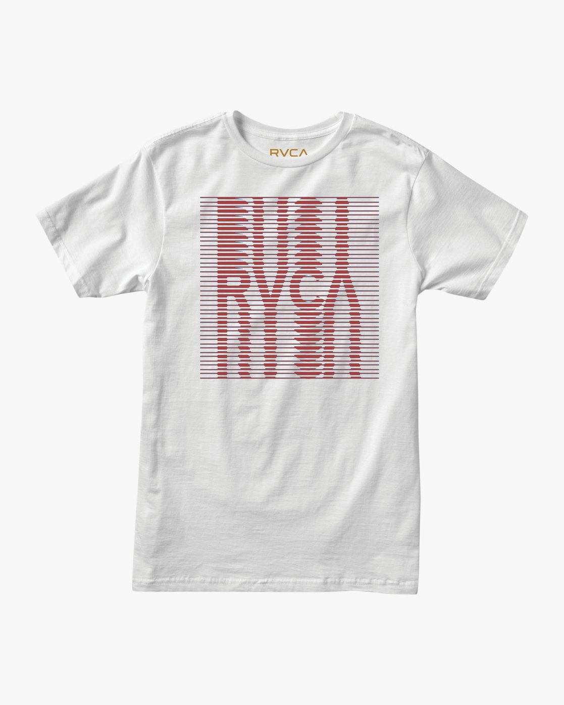 0 Repeated T-Shirt White M401TRRE RVCA