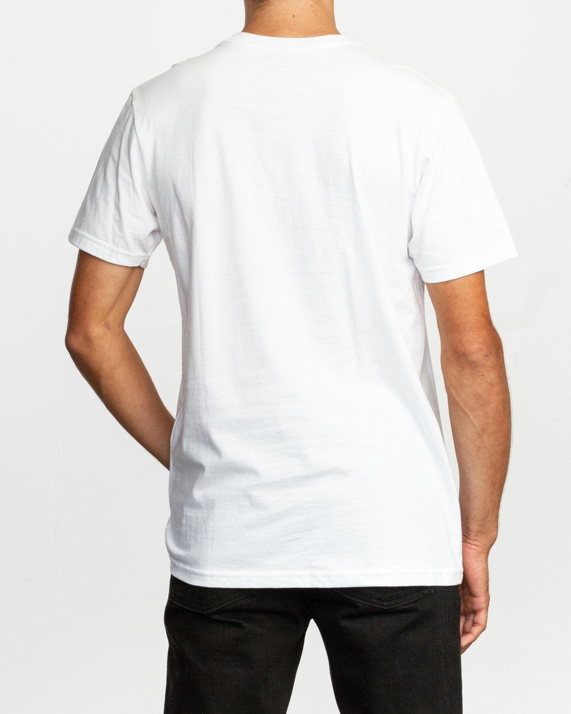 3 Repeated T-Shirt White M401TRRE RVCA