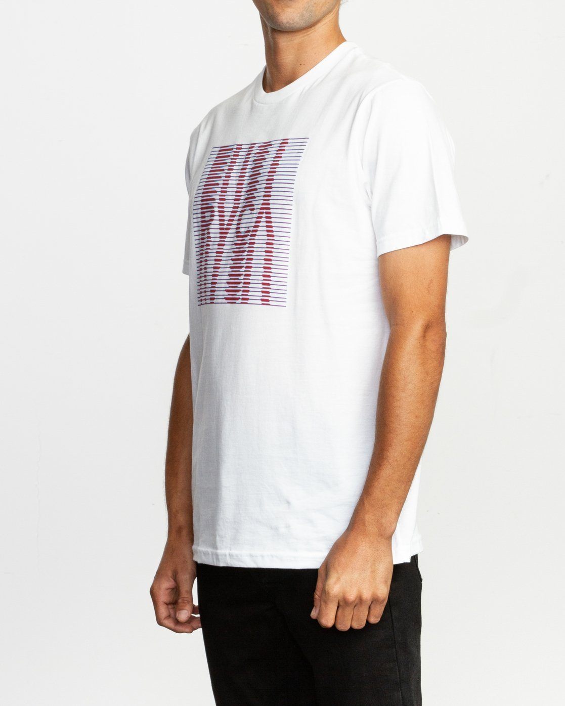 2 Repeated T-Shirt White M401TRRE RVCA