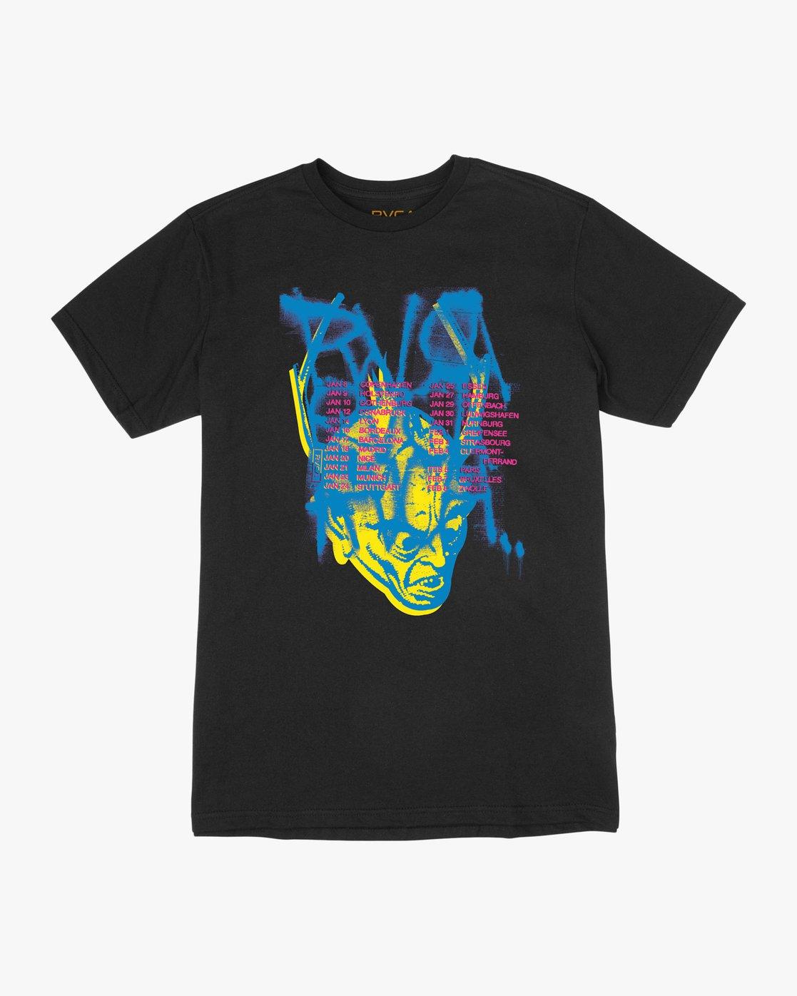 0 Dmote Strange Tour T-Shirt  M401TRST RVCA
