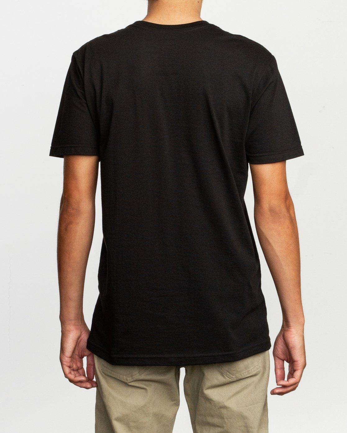 3 Dmote Strange Tour T-Shirt  M401TRST RVCA