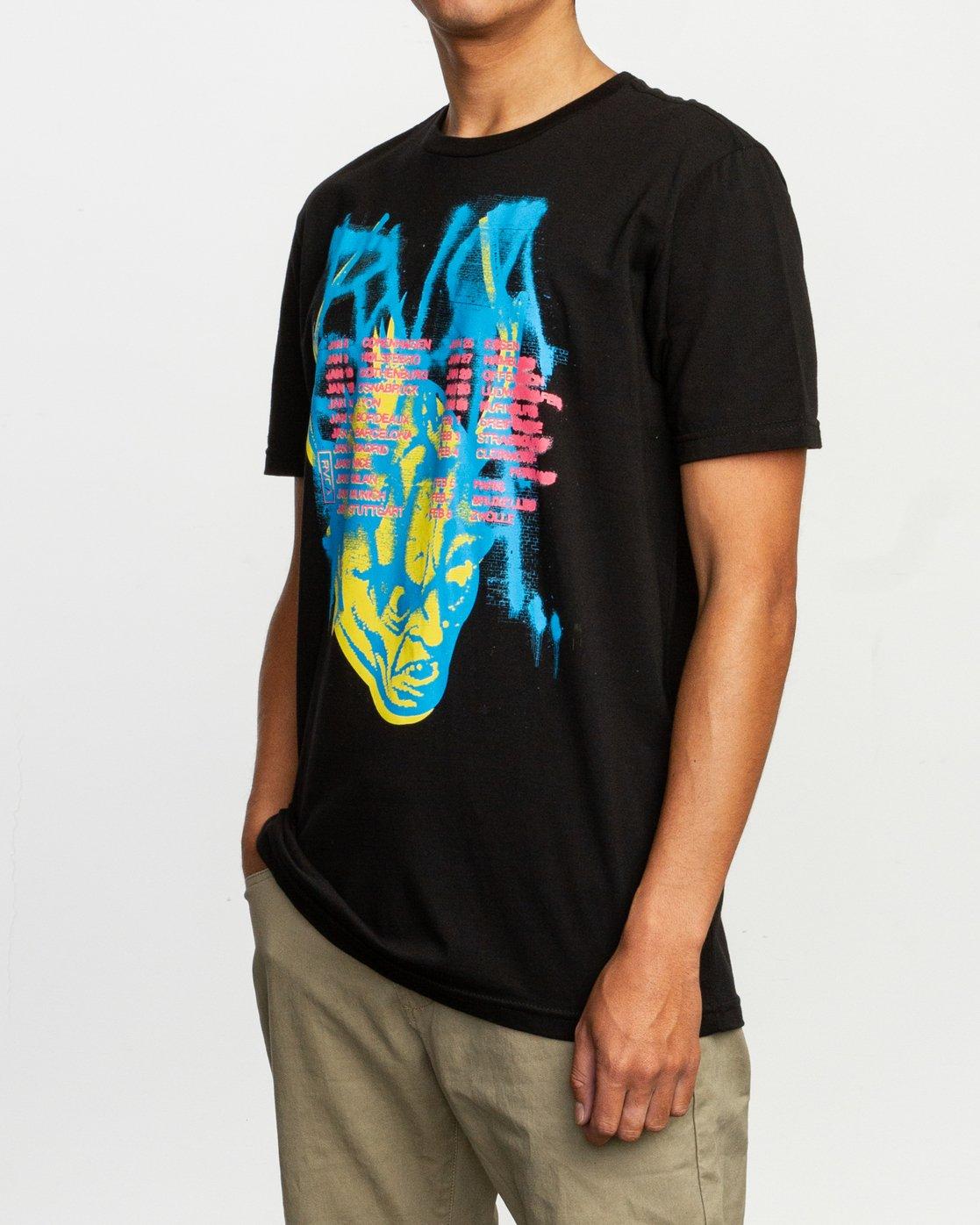 2 Dmote Strange Tour T-Shirt  M401TRST RVCA