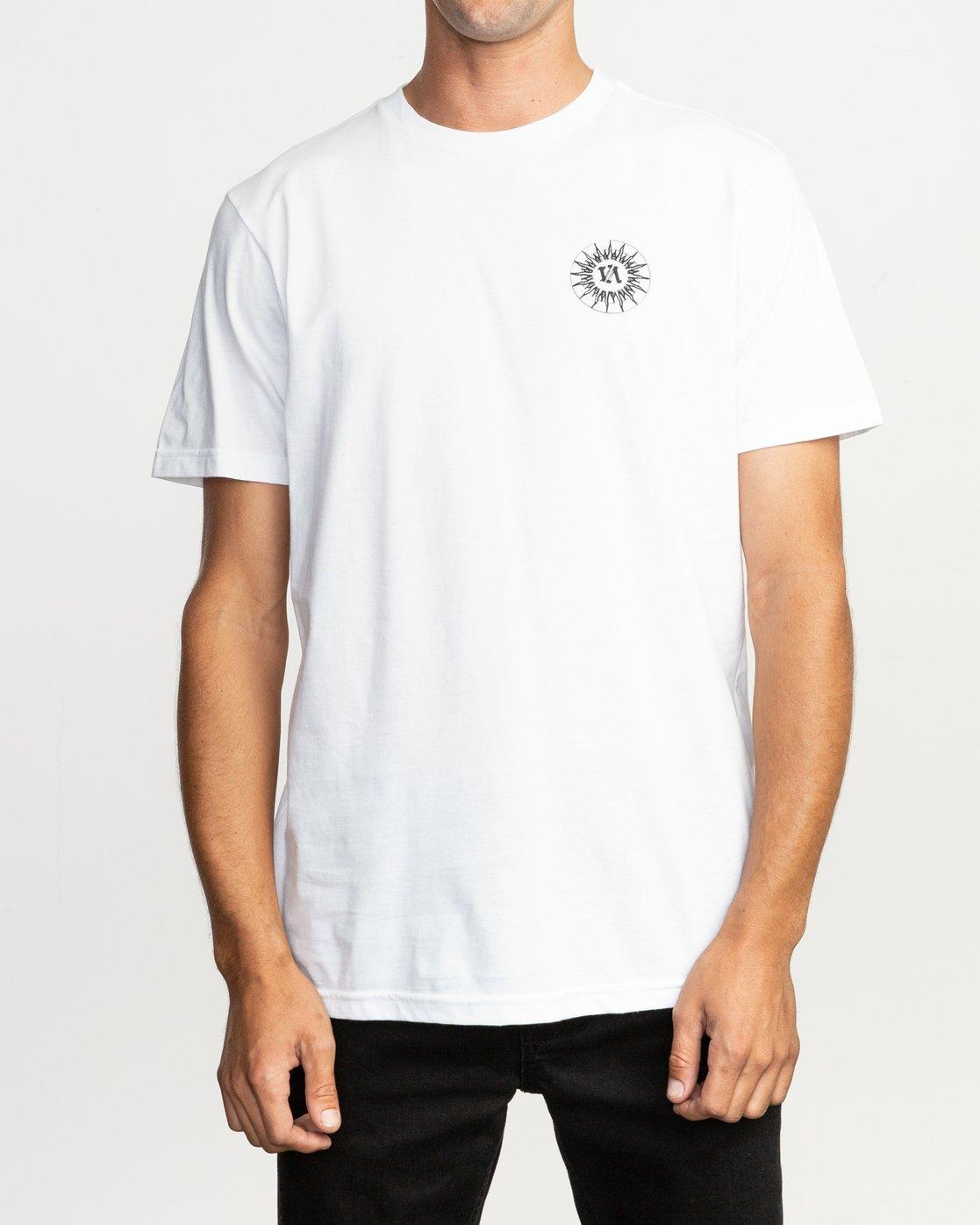 2 JeanJean Tigre T-Shirt White M401TRTI RVCA