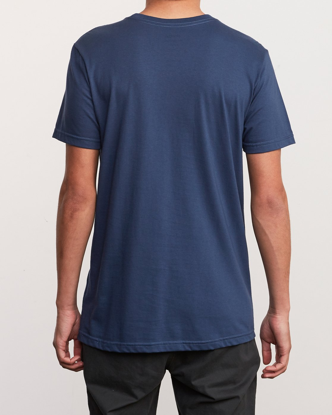 3 ATW Push T-Shirt Blue M401URAT RVCA