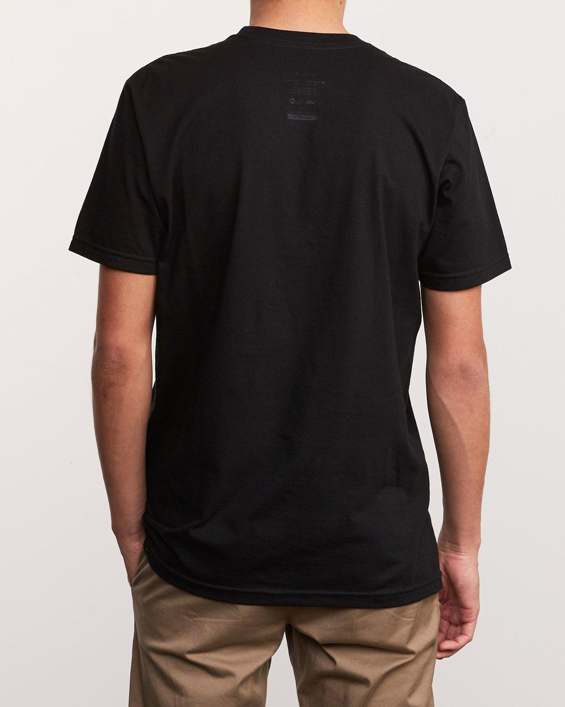 3 Alex Smith Beyond Reality T-Shirt Black M401URBR RVCA