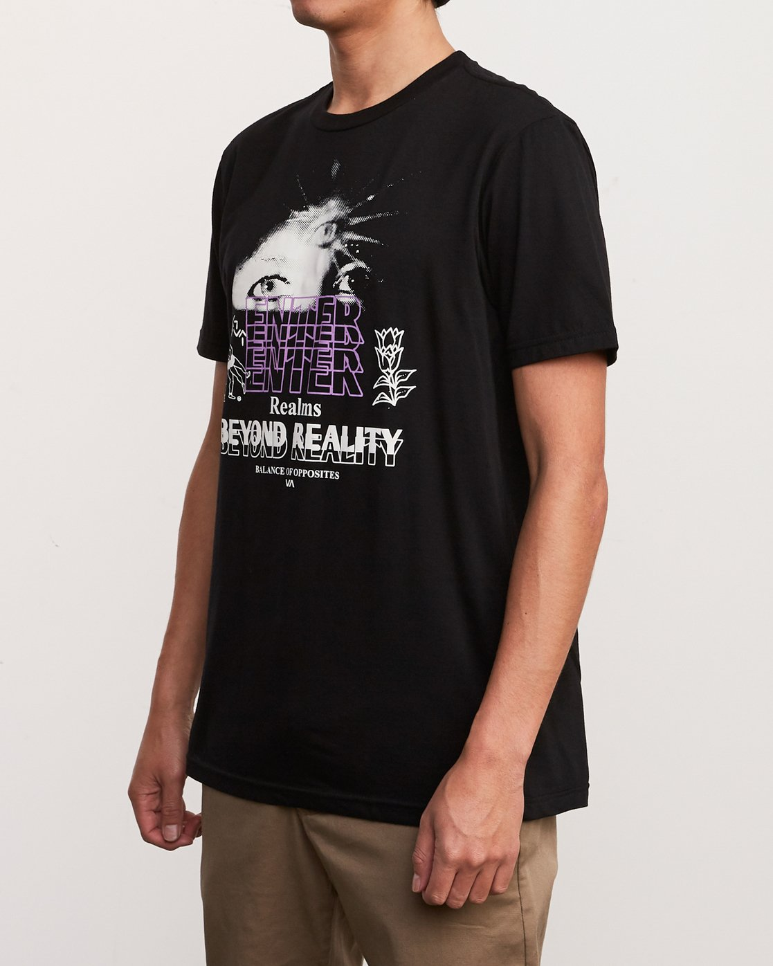 2 Alex Smith Beyond Reality T-Shirt  M401URBR RVCA