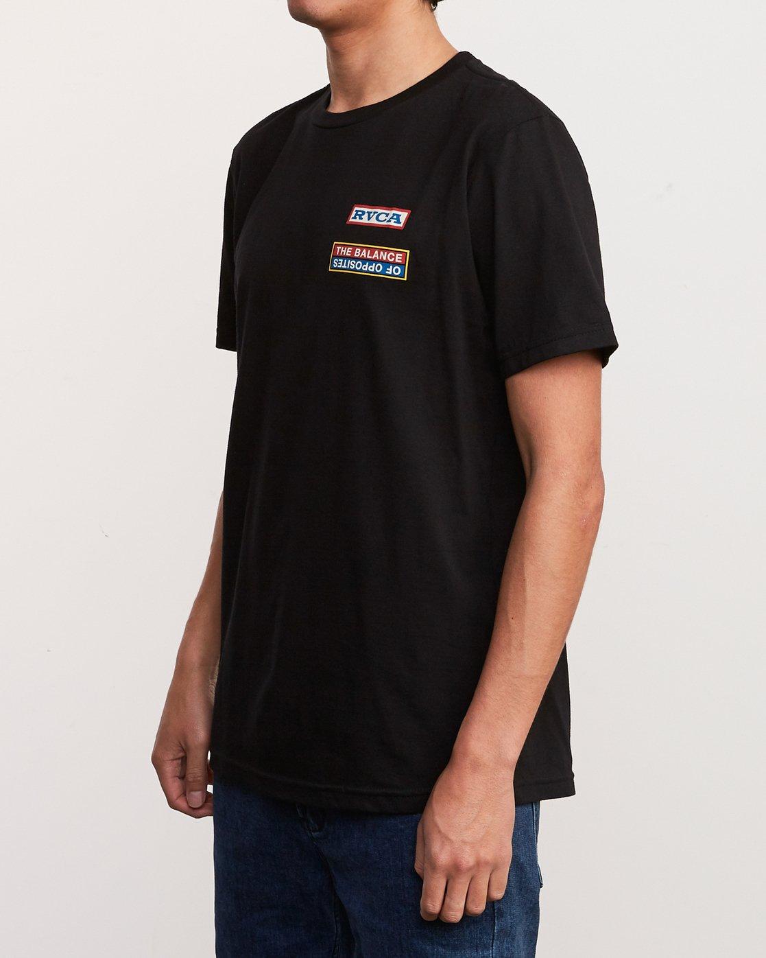 3 Daytona T-Shirt Black M401URDA RVCA