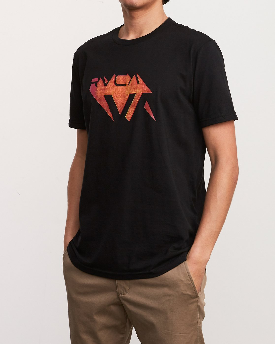2 3D VA T-Shirt Black M401URDV RVCA