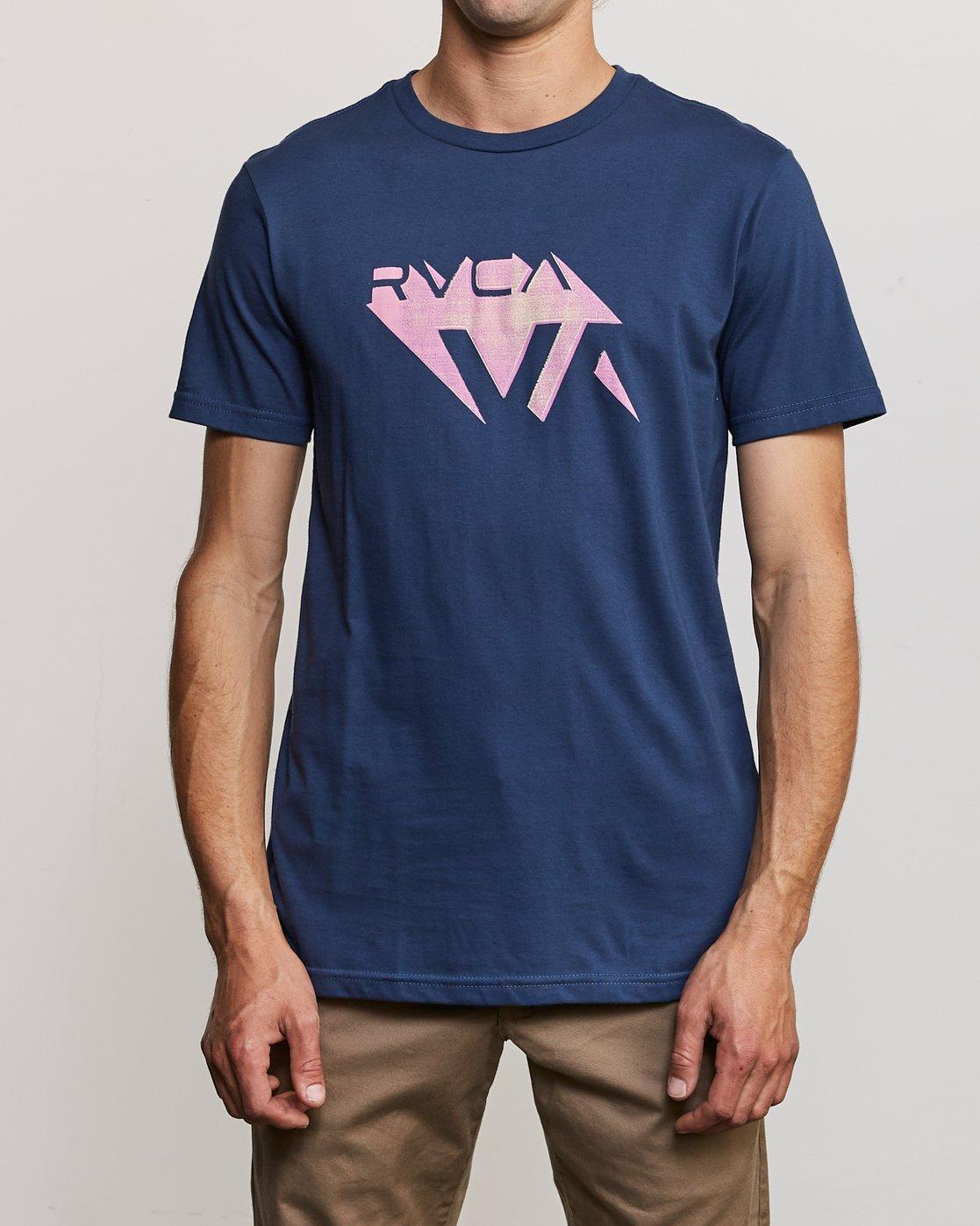 1 3D VA T-Shirt Blue M401URDV RVCA