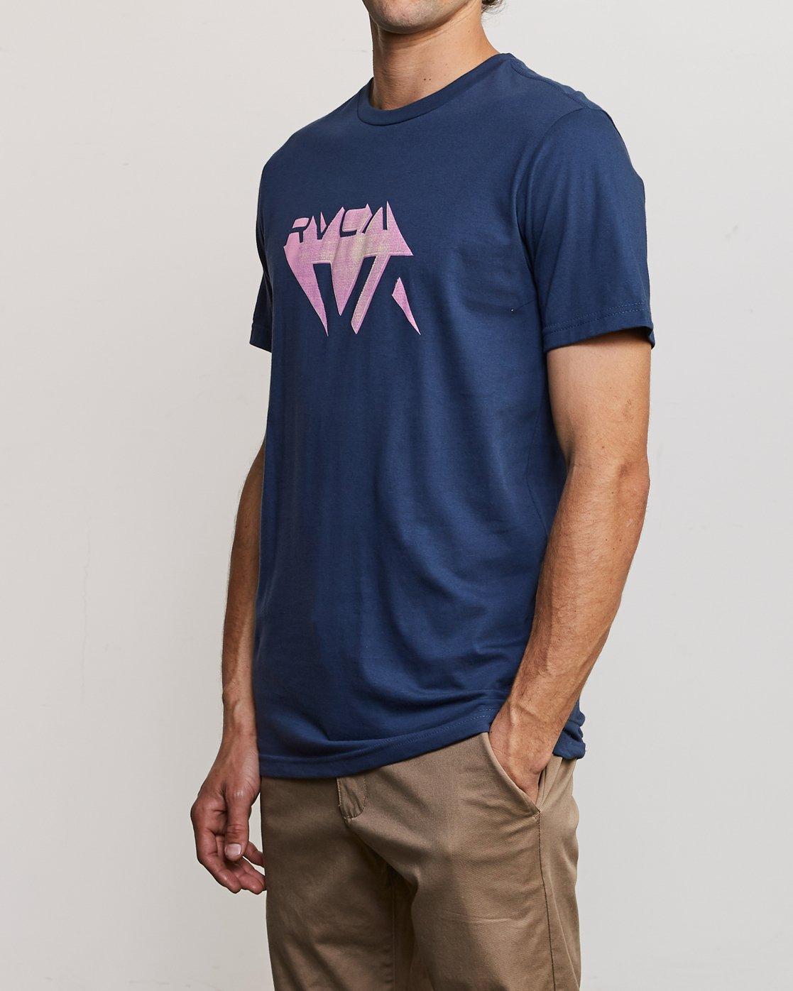2 3D VA T-Shirt Blue M401URDV RVCA