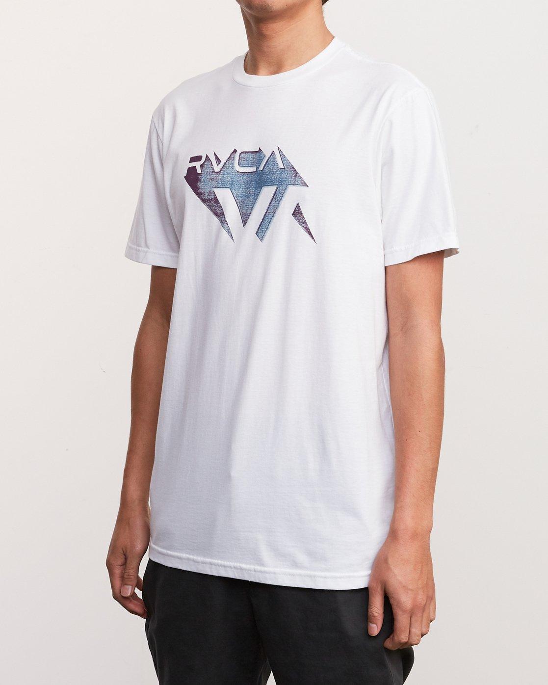 2 3D VA T-Shirt White M401URDV RVCA