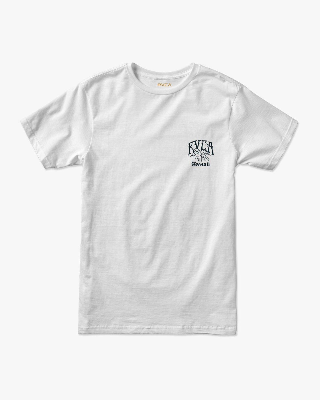 1 Ancell Hi Hula T-Shirt White M401URHH RVCA