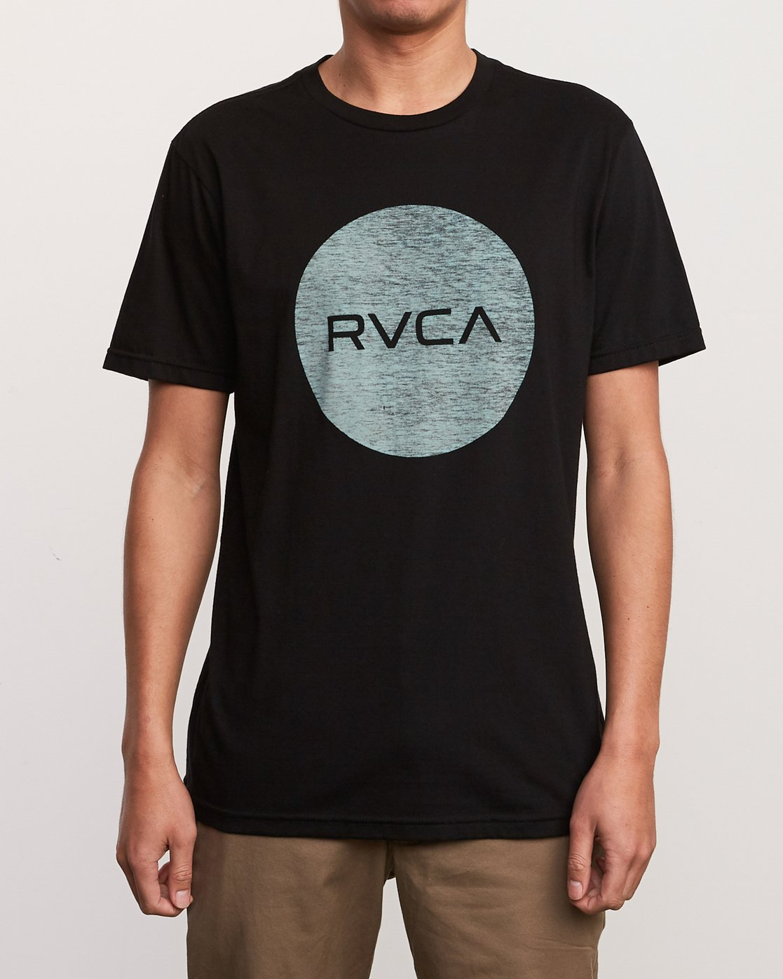 1 Motors Push T-Shirt Black M401URMP RVCA