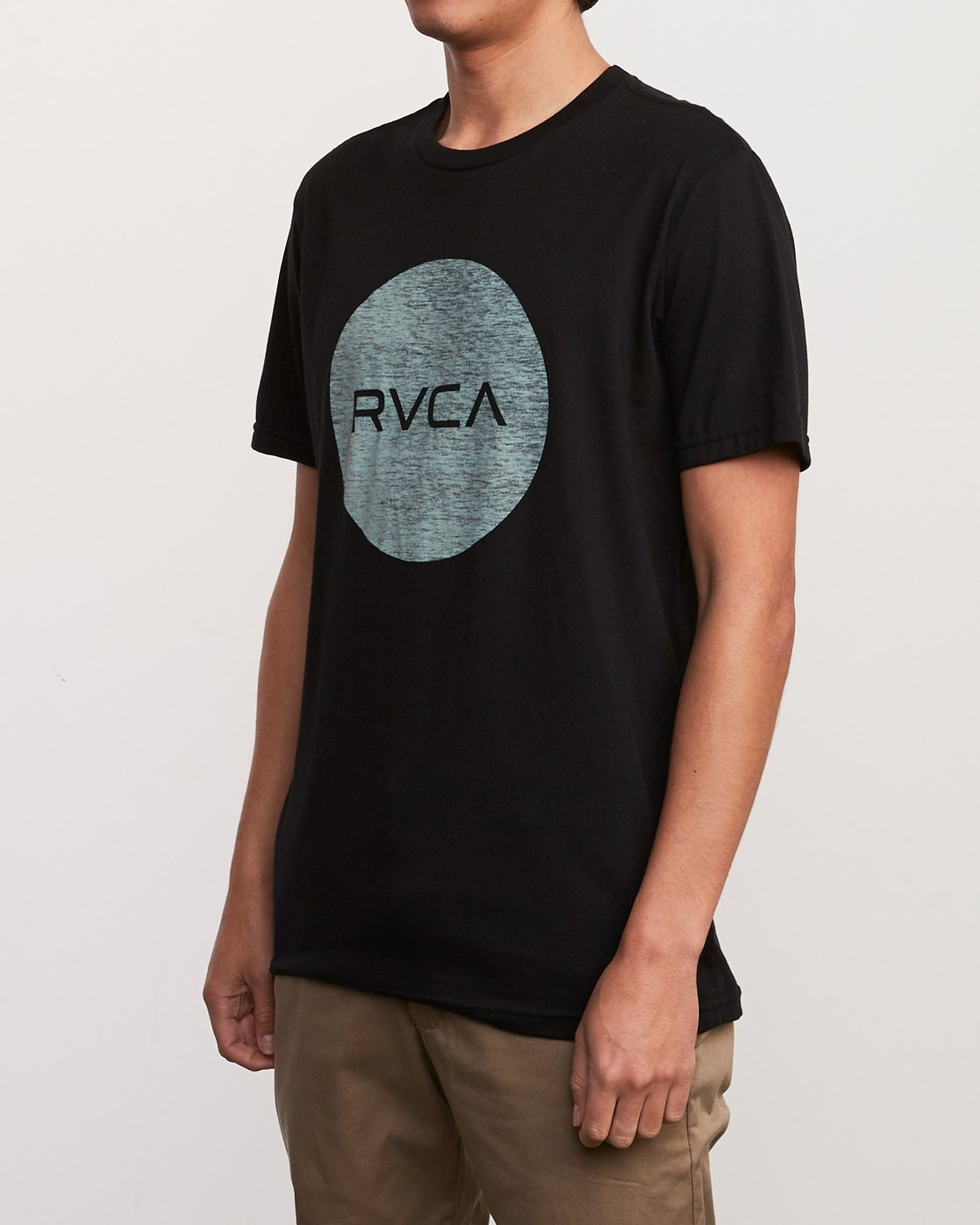 2 Motors Push T-Shirt Black M401URMP RVCA