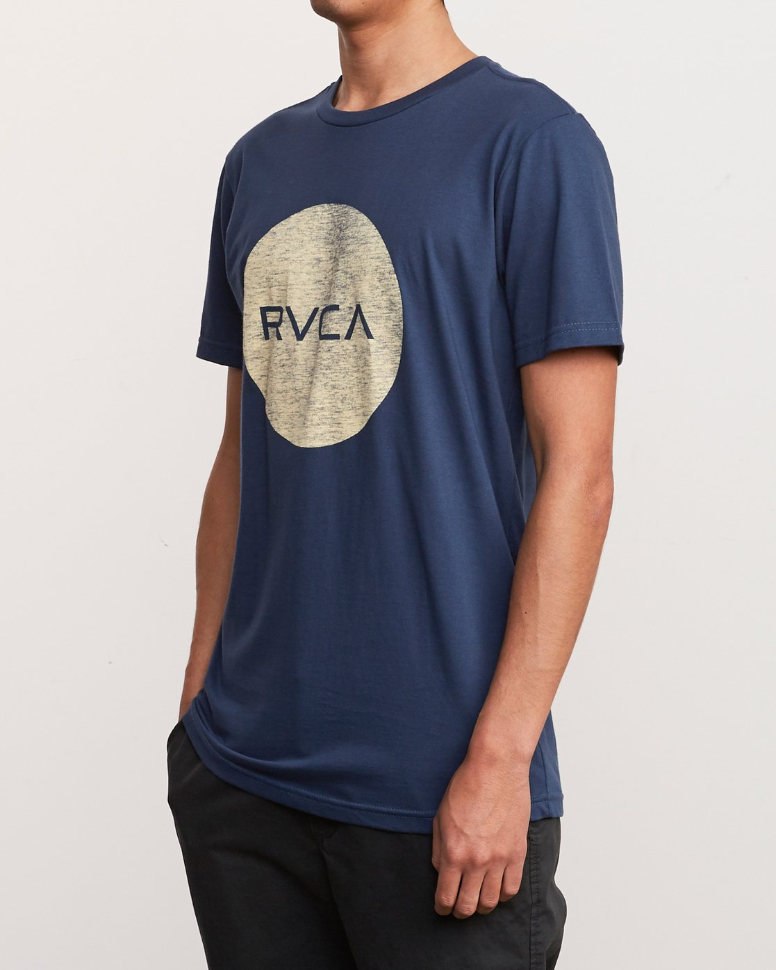 2 Motors Push T-Shirt Blue M401URMP RVCA