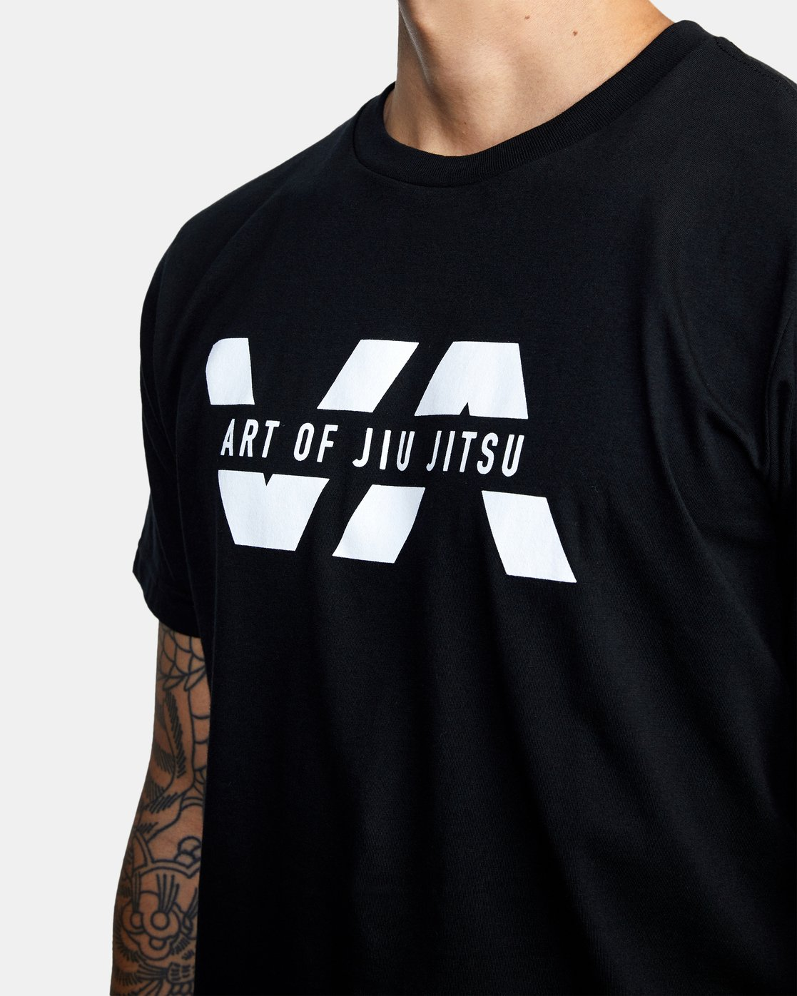 5 ART OF JIU JITSU SPLIT TEE  M401VRAS RVCA