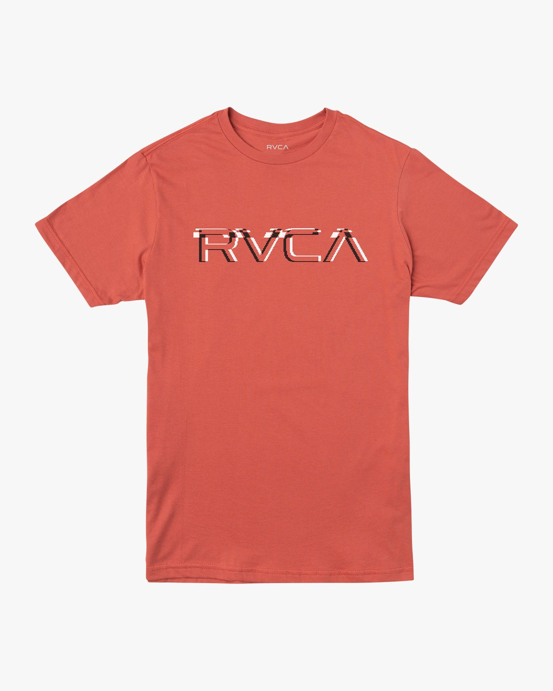 0 Big Glitch TEE Grey M401VRBG RVCA