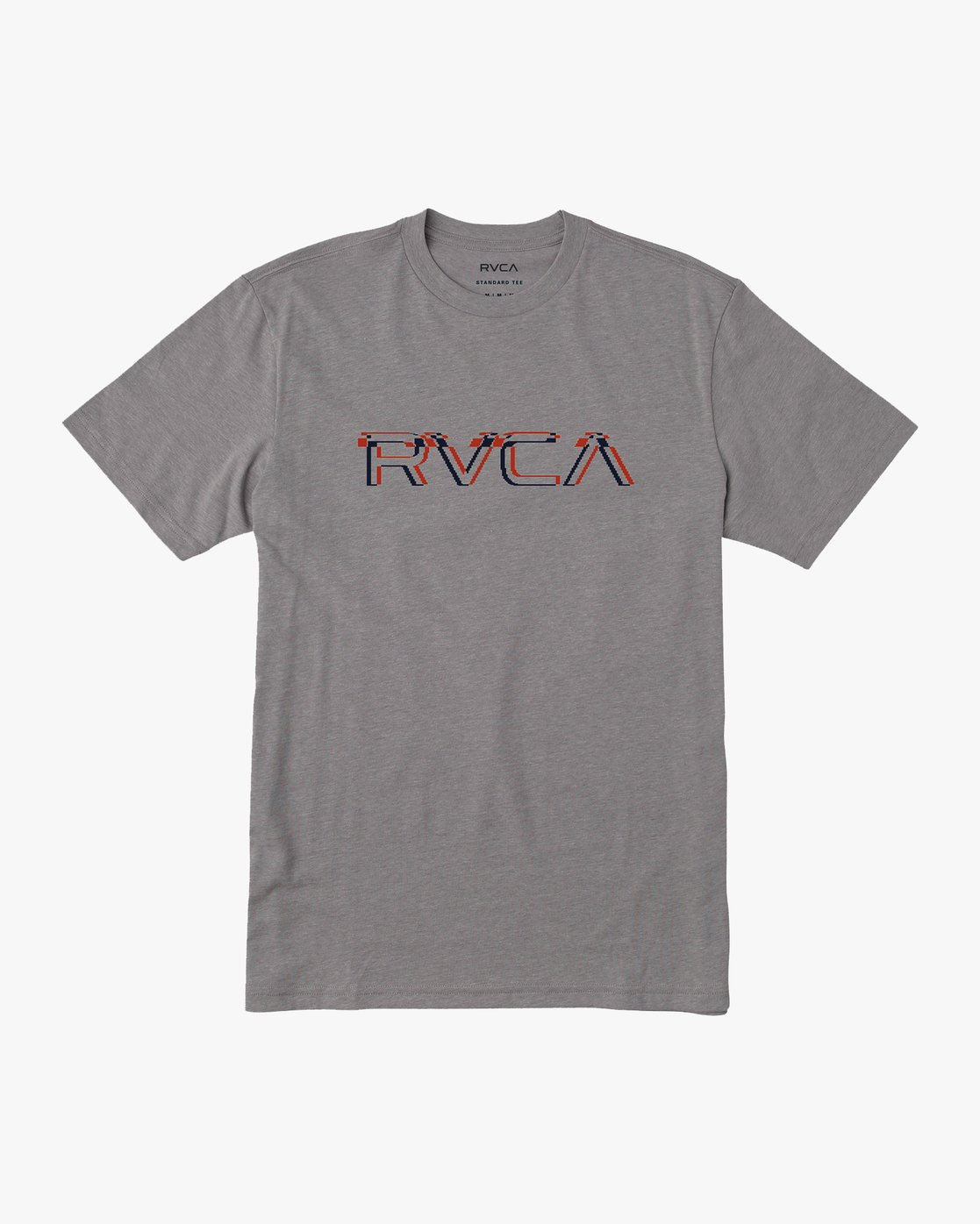 0 Big Glitch T-Shirt Grey M401VRBG RVCA