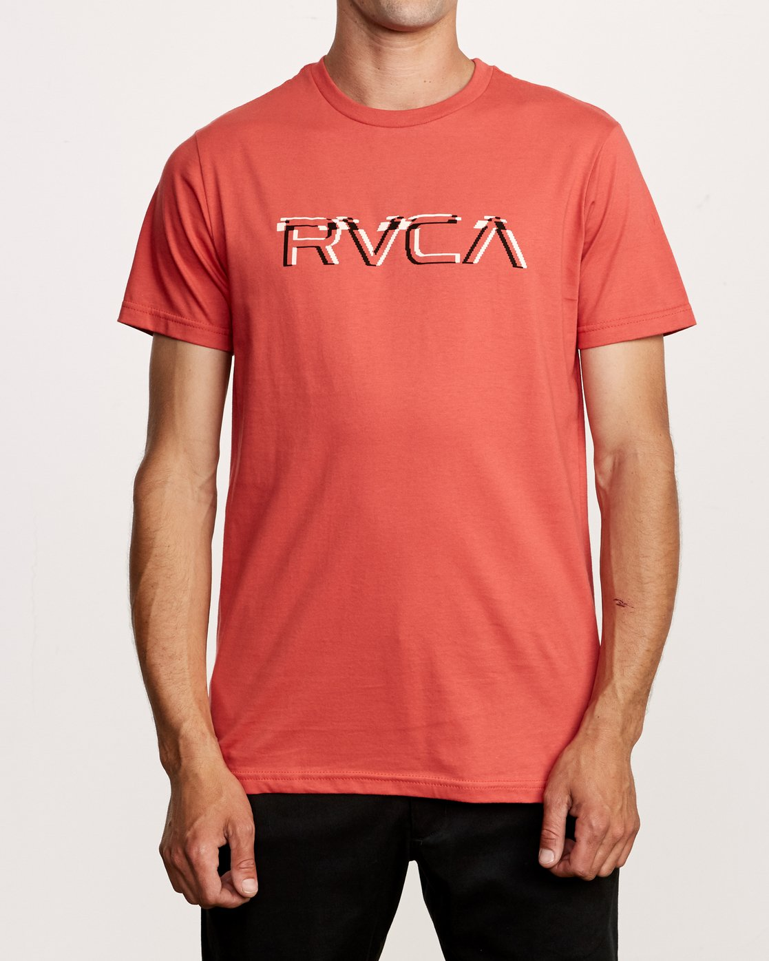 1 Big Glitch T-Shirt Grey M401VRBG RVCA