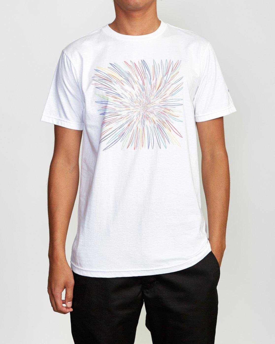 2 Johanson BL Tokyo T-Shirt White M401VRCJ RVCA