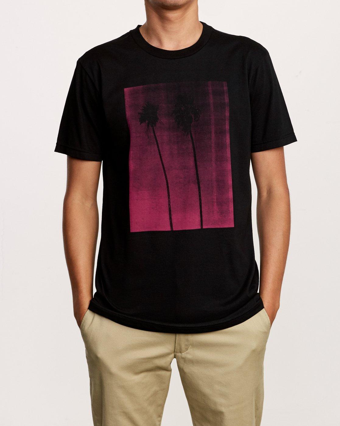 1 Copycat T-Shirt Black M401VRCO RVCA
