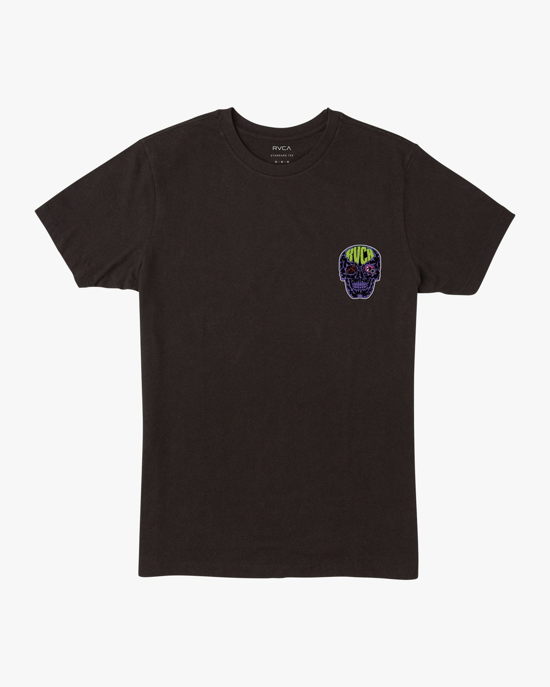 1 Dmote Electric Skull T-Shirt  M401VREL RVCA