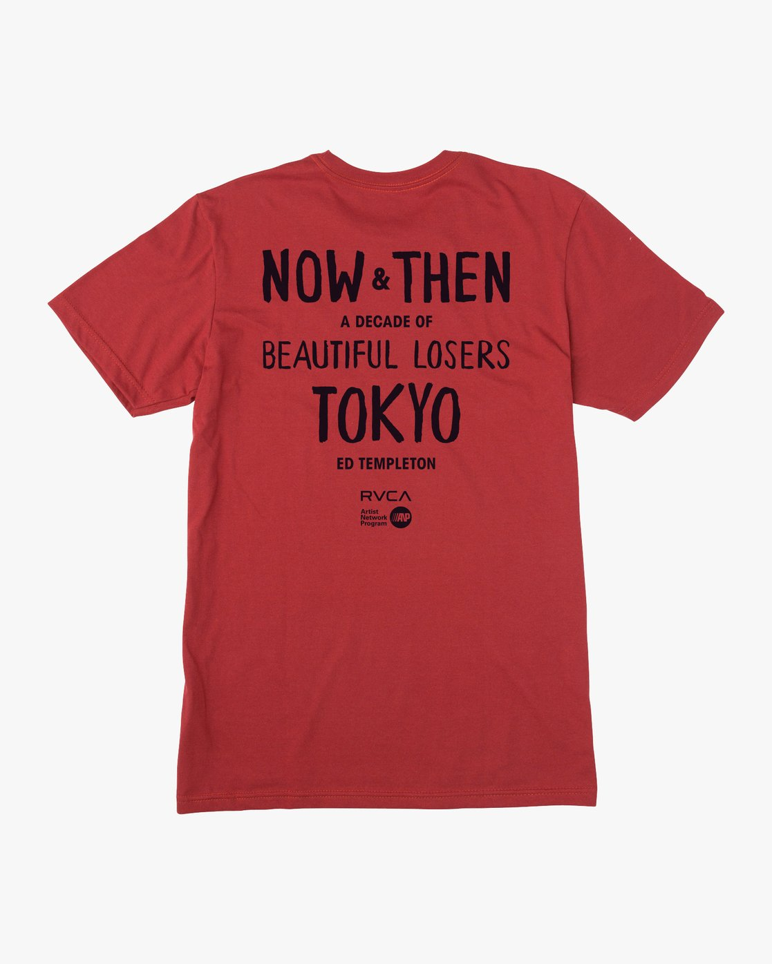1 Ed Templeton BL Tokyo T-Shirt Red M401VRET RVCA
