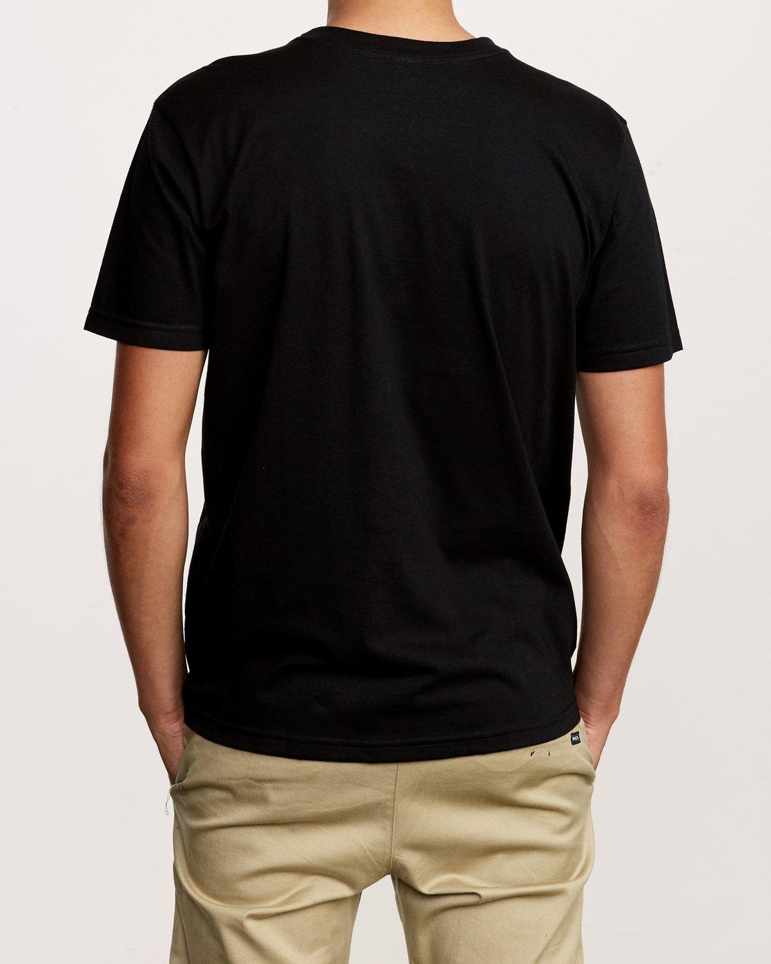3 Flow T-Shirt Black M401VRFL RVCA