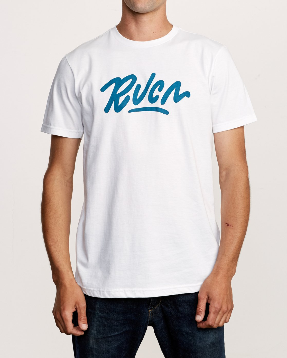 1 Flow T-Shirt White M401VRFL RVCA