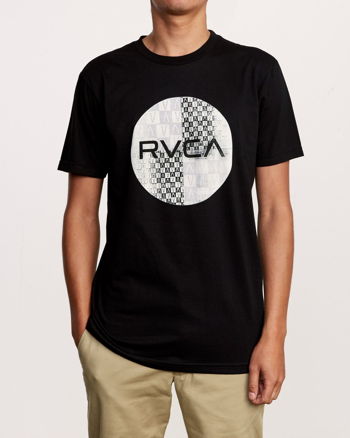 1 Motors Mix T-Shirt Black M401VRMO RVCA
