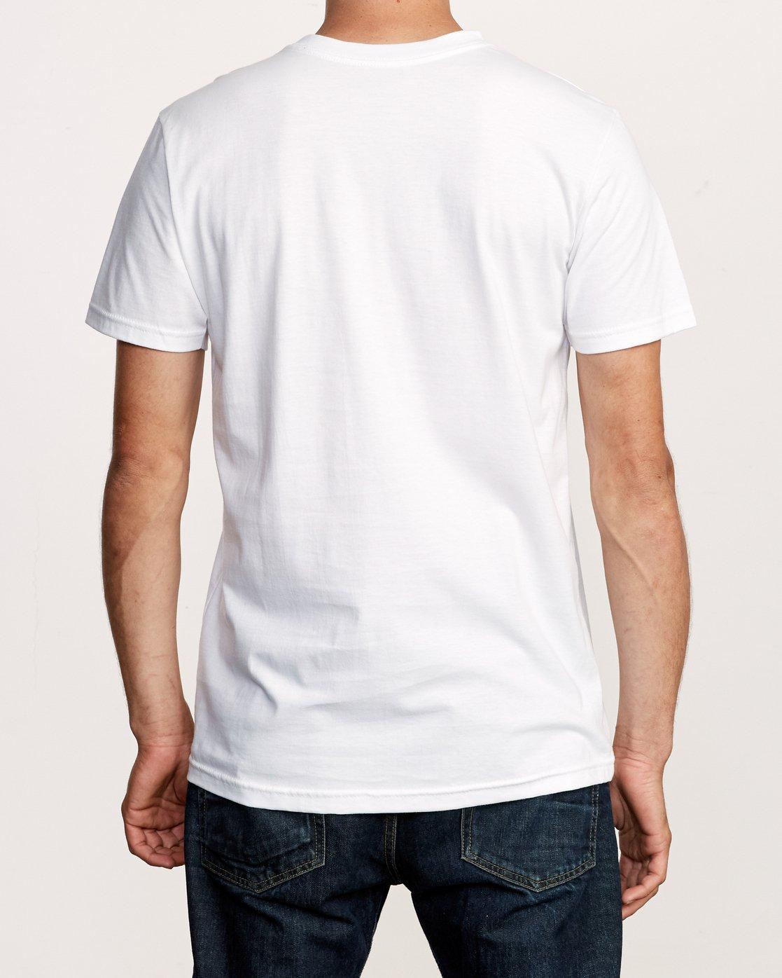 3 Random Box T-Shirt White M401VRRB RVCA