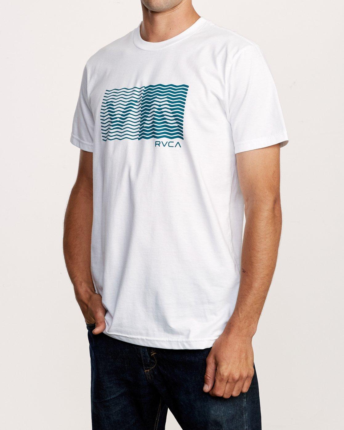 2 Random Box T-Shirt White M401VRRB RVCA
