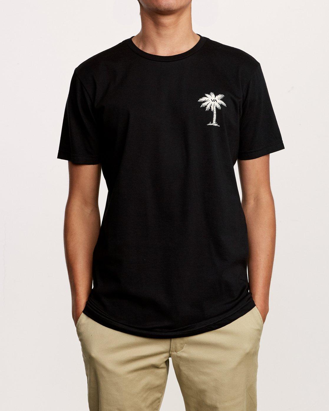 2 Resort HI T-Shirt Black M401VRRE RVCA