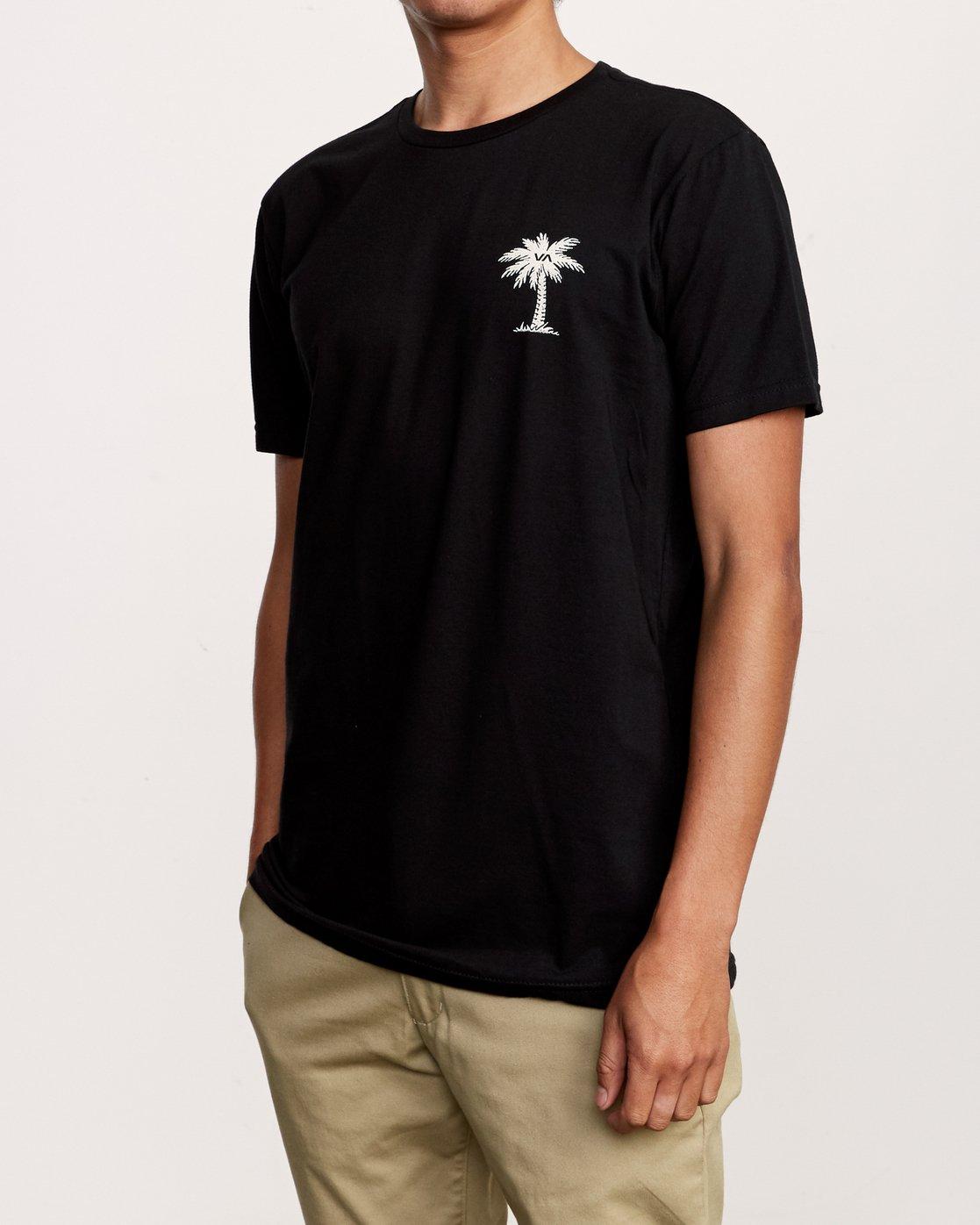 3 Resort HI T-Shirt Black M401VRRE RVCA