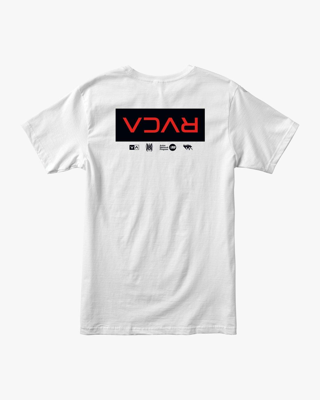 0 RVCA Tokyo T-Shirt  M401VRRT RVCA