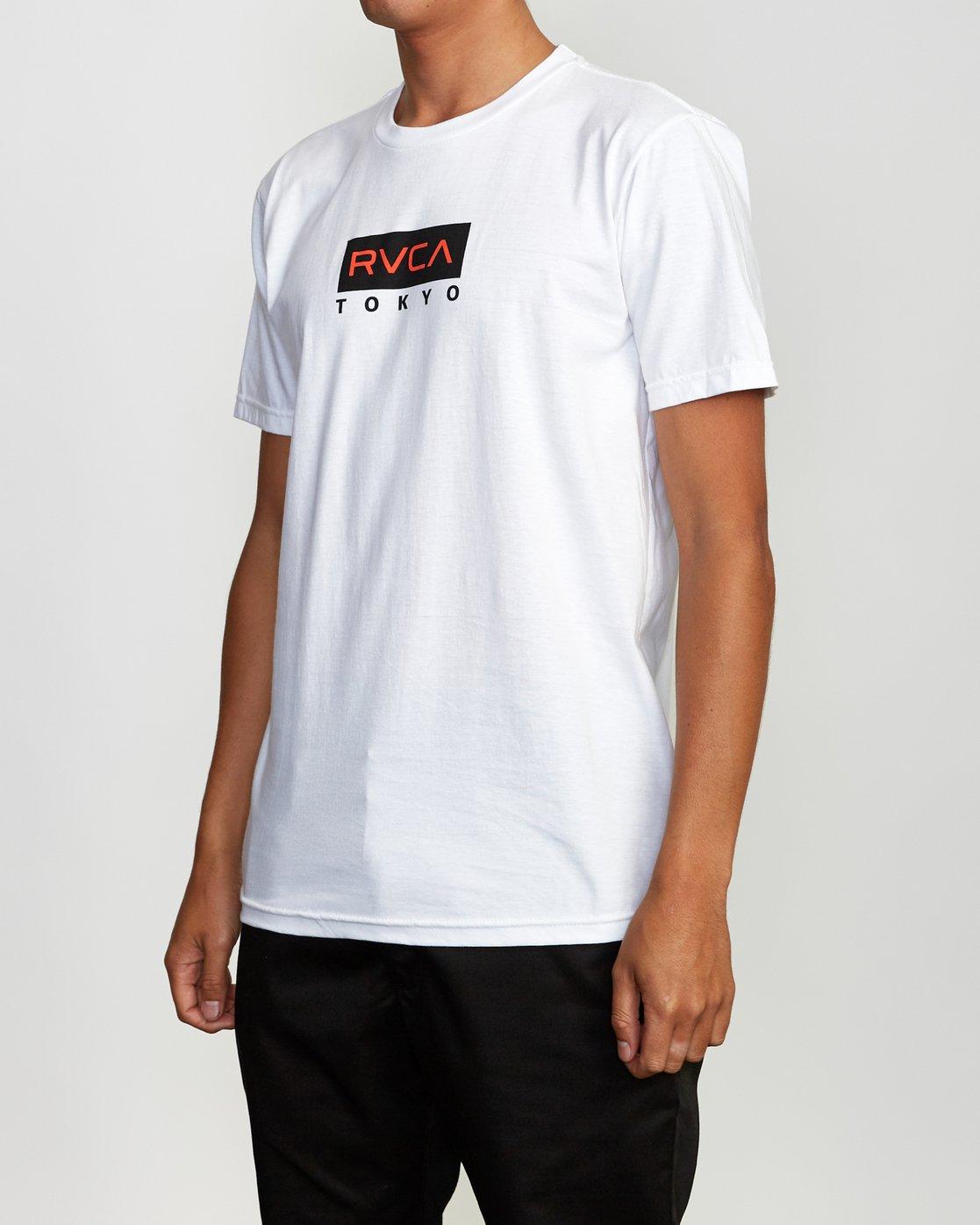 3 RVCA Tokyo T-Shirt  M401VRRT RVCA