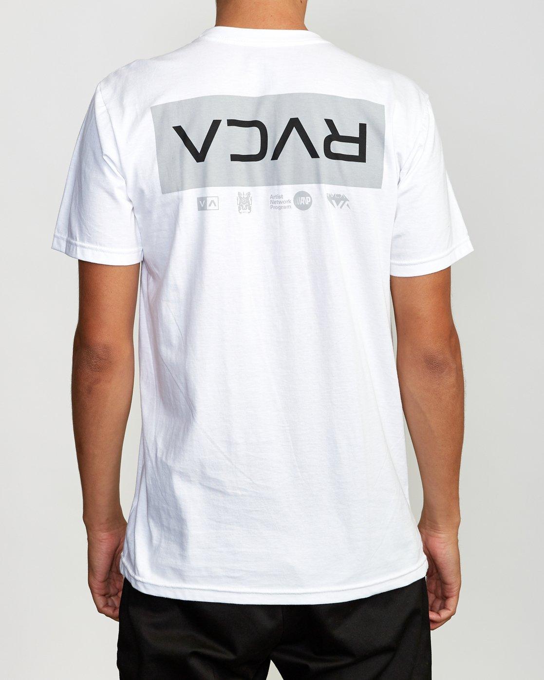 4 RVCA Tokyo T-Shirt  M401VRRT RVCA