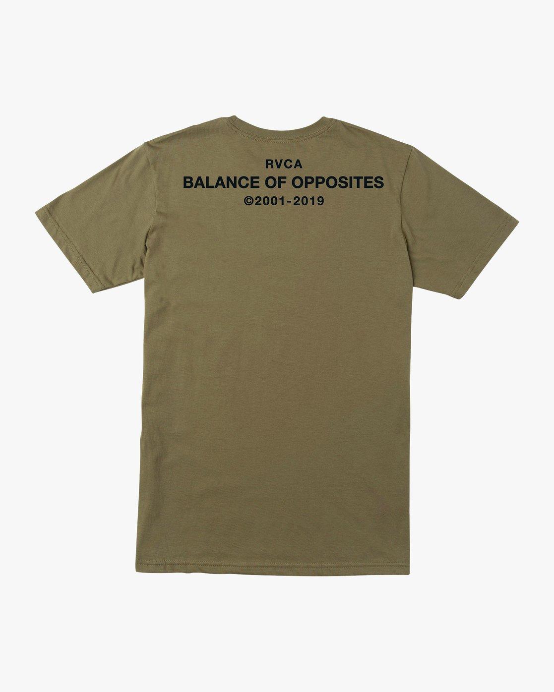0 Spec T-Shirt Green M401VRSP RVCA