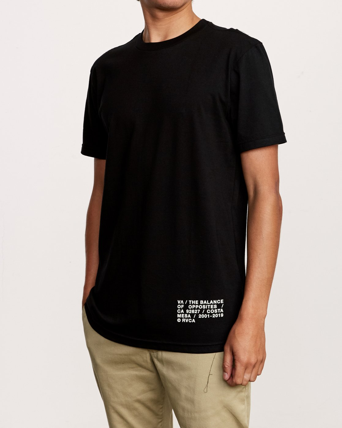 3 Spec T-Shirt Black M401VRSP RVCA