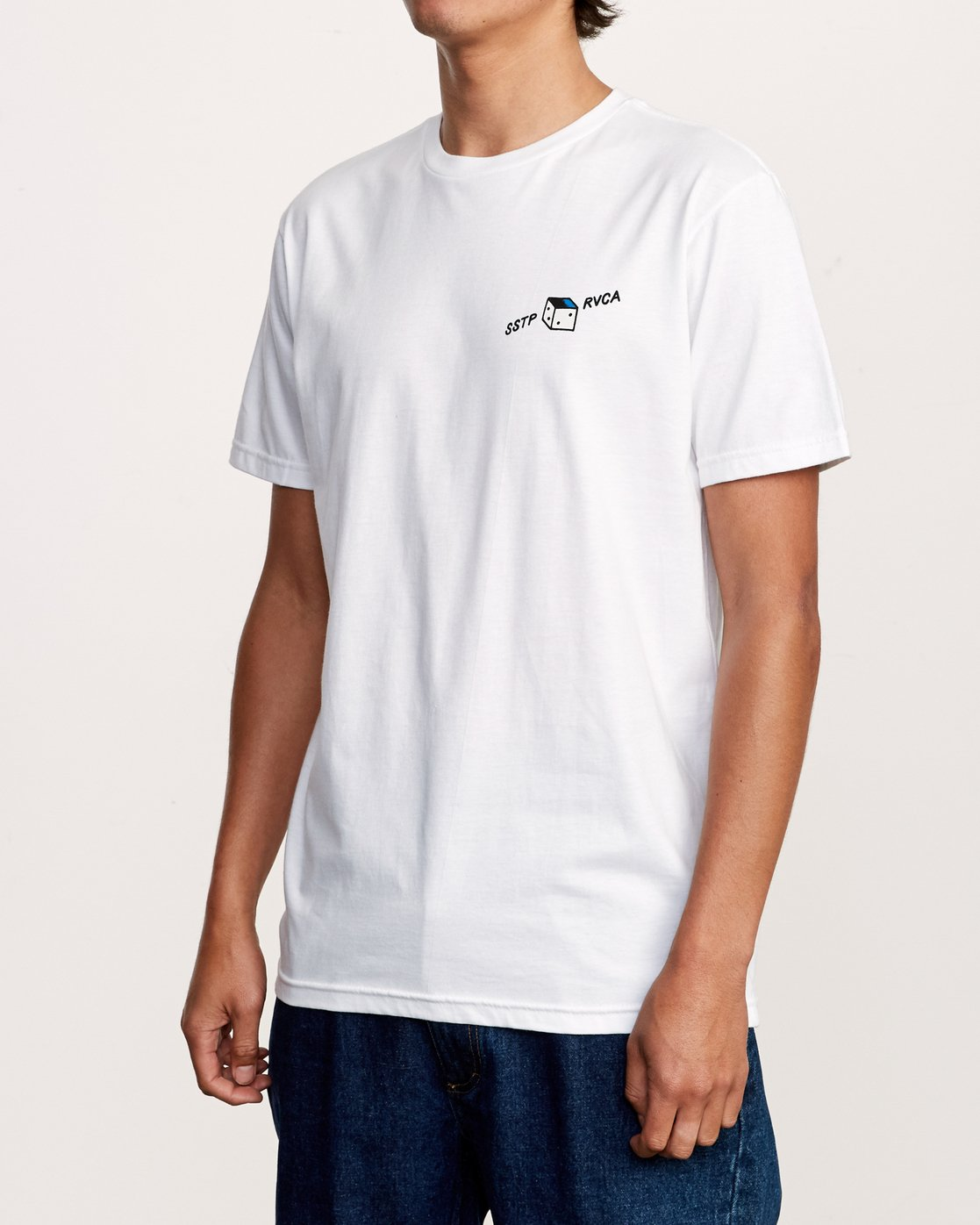 3 Smith Street T-Shirt White M401VRSS RVCA